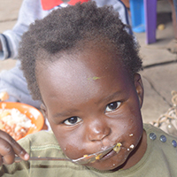 A Feeding and Nutrition Program